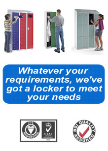 Whatever your requirements Storage Bitz Lockers have a locker to meet your needs